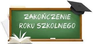 Ogłoszenie - Zakończenie roku szkolnego 2020/2021